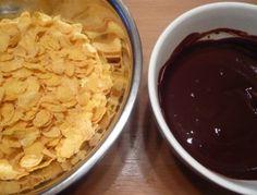 Rose des sables (végane & sans gluten) in progress - Une recette à réaliser avec des enfants pour un goûter ludique & équilibré- Graines de cuisine - sans gluten, sans lactose, sans beurre