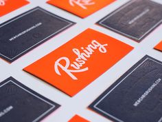 Chris Rushing's Business Card