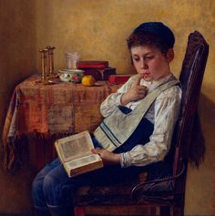 Isidor Kaufman - A Yeshiva Boy