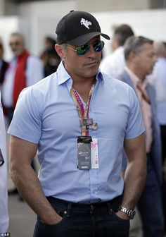 Going to the gym much? Matt LeBlanc looked as if he had been hitting the weight machines as he stepped out at the U.S. Grand Prix in Austin, Texas on Saturday with his buff arms on full show