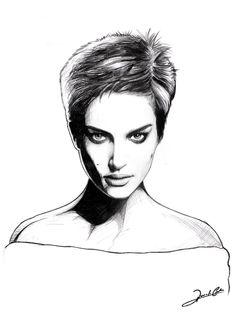 Natalie Portman By Renato Cunha