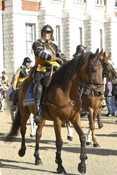 ECW Officer of cavalry
