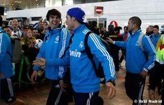 El Madrid llegó a Barcelona con las bajas de Marcelo y Albiol.