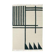 Ferm Living - Kelim Linien-Teppich - Large