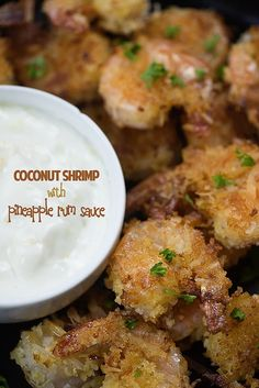 This coconut shrimp recipe is loaded with flavor and you definitely don't want to miss the coconut rum dipping sauce!