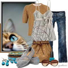 """""""Sunday Afternoon"""" by cynthia335 ❤ liked on Polyvore"""