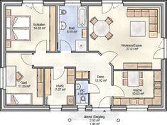 plan 96 bungalow mit fast 100 qm grundriss