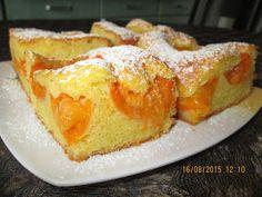 Prajituri de casa: Chec cu piersici / caise French Toast, Cooking Recipes, Pudding, Sweets, Baking, Breakfast, Desserts, Food, Martha Stewart