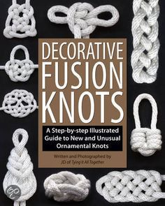 Decorative Fusion Knots, J. D. Lenzen > available in library TextielMuseum Tilburg
