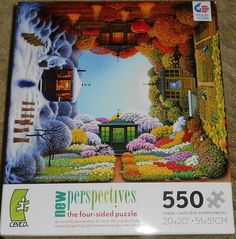 Ceaco New Perspectives The Four-Sided Puzzle 550 Piece Jigsaw Puzzle-NIB in Toys & Hobbies, Puzzles, Contemporary Puzzles | eBay