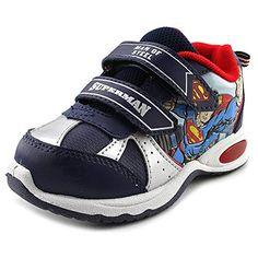 Superman Crosstrainer Athletic Sneaker (Toddler/Little Kid/Big Kid) ** Additional details @ http://www.amazon.com/gp/product/B00DPHAP78/?tag=lizloveshoes-20&de=030816013331