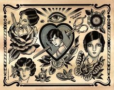 tattoo flash #tattoo tattoo-beauties
