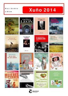 Novelas, cómics e libros de materias, todos dispoñibles na Biblioteca Os Rosales, desde hoxe, 2 de xuño de 2014.