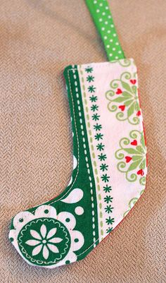 fabric stocking