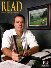 KU Jayhawks Coach Bill Self READ poster. Rock Chalk Jayhawk!