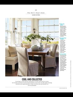 """Cool and Collected"" from Martha Stewart Living, July/August 2017. Read it on the Texture app-unlimited access to 200+ top magazines."