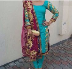 love the colours and embroidery.