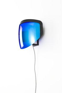 Moto walllamps – Jean-Baptiste Fastrez   idea: use my welding helmet for a wall sconce.