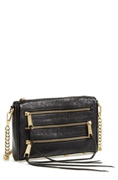 Edgy convertible crossbody you can also use as a clutch