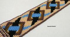 Emek PinariBead Crochet Necklace  Summer Beaded by beadssea