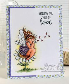 Sending You Lots of Love (stamping bella)