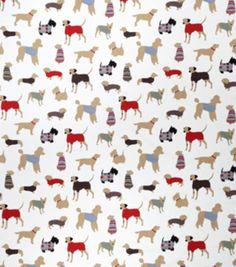 Home Decor Print Fabric-Eaton Square Connor / Red
