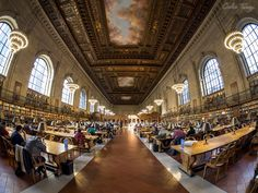 New York Public Library. by Carlos Torija on 500px