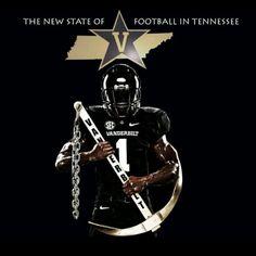 Anchor Down! Love this ♡ Vanderbilt Football f68491c7b