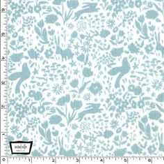 Michael Miller Shadow Garden double gauze in mist. 1 yd for Geranium Dress.