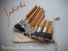 Hey, I found this really awesome Etsy listing at https://www.etsy.com/listing/234047442/bamboo-kabuki-makeup-brushes