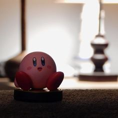"""My great friend Kirby at my place"" ______________________________________ #Kirby #NintendoRegram #Nintendo #nintendolife #igersnintendo #amiibo #nintendoJC #nintendomag #videogames #games #clubnintendo by nintendojc"