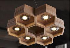 Lampen für Zuhause handgefertigt - Suchen in ...  #einrichtungsideen #einrichtungstipps Wooden Ceiling Design, Wooden Ceilings, Light Fittings, Light Fixtures, Interior Lighting, Lighting Design, Blitz Design, Wooden Lamp, Lamp Light