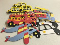 Ready To Ship/DIY Crafts/Transportation by JellyBeanPaper on Etsy
