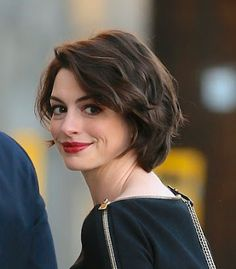 anne hathaway short hair - Google Search