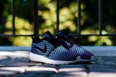 Nike Roshe Run Flyknit Neo Turquoise - Sneakers Madame