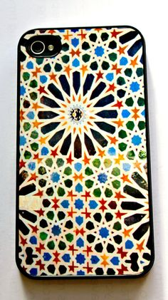 Islamic Mosaic tile from Alhambra Palace Spain  fine by Elyssiam, £14.99