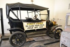 1916 Ford Model T First to climb Pikes Peak