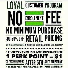 It Works loyal customer program