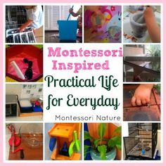 Practical Life Activities:  Montessori (Montessori Nature Blog)