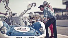 Le Mans Classic 2010 by Laurent Nivalle, via Behance