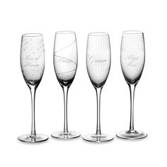 Mikasa Cheers Flute Set (Set of 4) - Bed Bath & Beyond