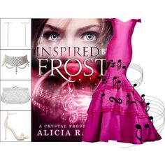 Book Look: Inspired By Frost By Alicia Rades by xmikky on Polyvore featuring Gianvito Rossi, Monsoon and Ileana Makri
