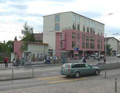 Mehrfamilienhaus  Knapkiewicz Fickert  Rigiplatz
