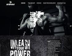 the beast page My Portfolio, Online Portfolio, Working On Myself, New Work, Beast, Web Design, Behance, Technology, Gallery