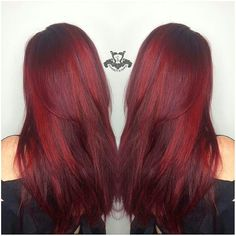Multi Toned Vibrant Red Hair Color - http://sarasotabradentonhairsalon.com/multi-toned-vibrant-red-hair-color/