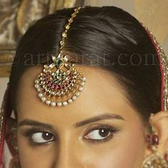 Maang TIKKA Indian bridal jewellery