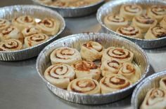 Pioneer woman cinnamon rolls - use the instructions to make GF cresant and cinammon rolls from adventures of a gluten free mom