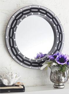Create a mirror using hardware =)