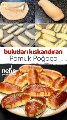 Cloud consistency cotton pastry - delicious recipes-Bulut Kıvamında Pamuk Poğaça – Nefis Yemek Tarifleri How to Recipe a Cotton Pastry with Cloud Consistency … - Pastry Recipes, Pizza Recipes, Brunch Recipes, Breakfast Recipes, Cooking Recipes, Donut Recipes, Yummy Recipes, Frozen Pastry, Wie Macht Man