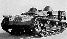 Renault UE tankette (gebaseerd op de loyden tankette)